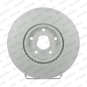 Bremsscheibe Bremsscheibendicke: 28mm, Lochanzahl: 5, Ø: 300mm mit OEM-Nummer 7G91112-5EA