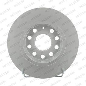 Bremsscheibe Bremsscheibendicke: 10mm, Lochanzahl: 9, Ø: 272mm mit OEM-Nummer 6R0 615 601