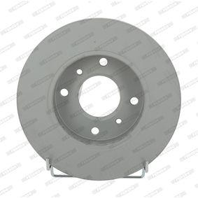 Bremsscheibe Bremsscheibendicke: 22mm, Lochanzahl: 4, Ø: 256mm mit OEM-Nummer 4020671E06