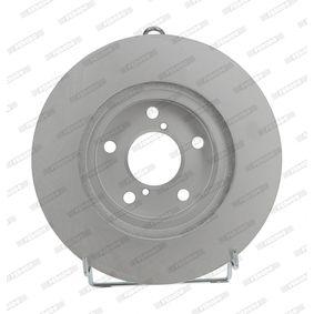 Bremsscheibe Bremsscheibendicke: 24mm, Lochanzahl: 5, Ø: 260mm mit OEM-Nummer 26300-AE090
