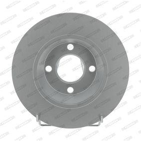 Bremsscheibe Bremsscheibendicke: 13mm, Lochanzahl: 4, Ø: 280mm mit OEM-Nummer 8A0.615.301
