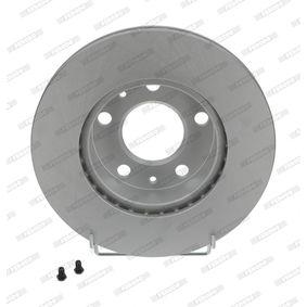 FERODO PREMIER Coat+ disc DDF768C Bremsscheibe Bremsscheibendicke: 24mm, Lochanzahl: 5, Ø: 300mm