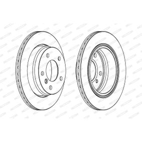 Bremsscheibe Bremsscheibendicke: 19mm, Lochanzahl: 5, Ø: 276mm mit OEM-Nummer 34.21.1.165.211