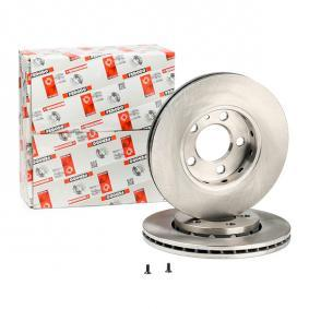 Bremsscheibe Bremsscheibendicke: 22mm, Lochanzahl: 5, Ø: 256mm mit OEM-Nummer 6R0615301C