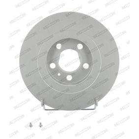 Bremsscheibe Bremsscheibendicke: 22mm, Lochanzahl: 5, Ø: 280mm mit OEM-Nummer 1J0 615 301 M