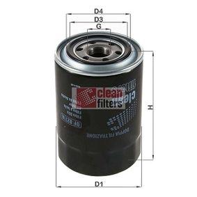 Filtro de aceite DF 827/A Pajero Sport Van 1 (K90) 2.5 TD ac 2000