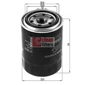 Ölfilter Höhe: 125mm mit OEM-Nummer 119770-90620