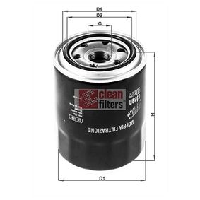 Oil Filter DF1891 RAV 4 II (CLA2_, XA2_, ZCA2_, ACA2_) 2.0 D 4WD (CLA20_, CLA21_) MY 2001