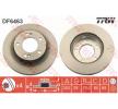 TRW Frenos de disco SSANGYONG ventilado, barnizado