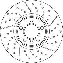 Brake Rotors TRW DF6604S rating