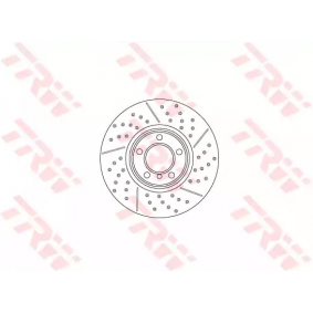 Brake Disc Brake Disc Thickness: 30mm, Num. of holes: 5, Ø: 340mm with OEM Number 34116797602