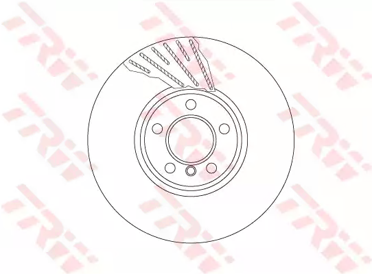 Bremsscheibe TRW DF6612S einkaufen
