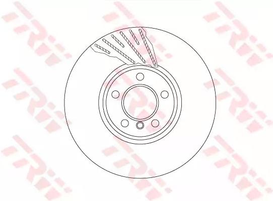 BuyBrake Disc TRW DF6612S