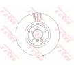 OEM Disco de travão TRW DF6615S