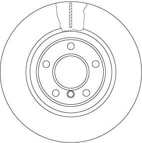 Scheibenbremsen TRW DF6616S Bewertung