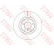 OEM Bremsscheibe TRW 11015809 für BMW