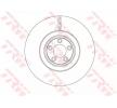 OEM Bremsscheibe TRW 11015823 für JAGUAR