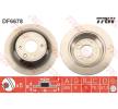 OEM Bremsscheibe TRW 11015835 für HONDA