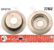 OEM Bremsscheibe TRW 11015845 für SSANGYONG