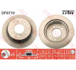 Brake disc kit SSANGYONG RODIUS 2 2013 year 11015845 TRW Vented, Painted