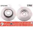 OEM Bremsscheibe TRW 11015855 für MINI