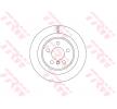 OEM Bremsscheibe TRW 11015858 für MINI