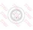 Bremsscheibe BMW 2 Gran Tourer (F46) 2019 Baujahr DF6756 Voll, lackiert