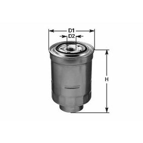Fuel filter Height: 132mm with OEM Number 1770A053