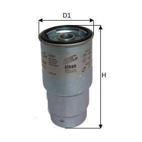 Kraftstofffilter Höhe: 121mm mit OEM-Nummer 600-311-2110