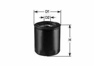 CLEAN FILTER  DO 846 Ölfilter Höhe: 67mm