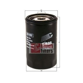 Ölfilter Höhe: 122mm mit OEM-Nummer YF0914302A