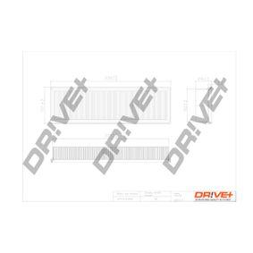 Filtro aria Lunghezza: 332,0mm, Largh.: 103mm, Alt.: 50,0mm, Lunghezza: 332,0mm con OEM Numero 1444.VJ