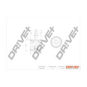 Ölfilter Ø: 69mm, Höhe: 72,0mm mit OEM-Nummer 15400-PJ7-005