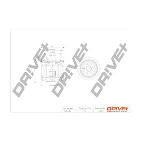 Ölfilter Ø: 72mm, Höhe: 76,0mm mit OEM-Nummer 8942019422