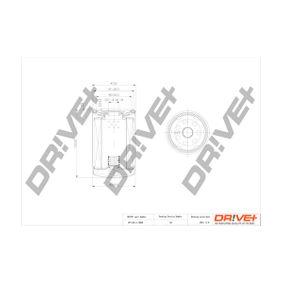Ölfilter Ø: 79mm, Höhe: 123,0mm mit OEM-Nummer 06A115561