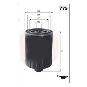 Golf 5 1.4 16V Ölfilter Dr!ve+ DP1110.11.0057 (1.4 16V Benzin 2008 BUD)
