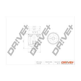 2002 Golf 4 1.4 16V Oil Filter DP1110.11.0057