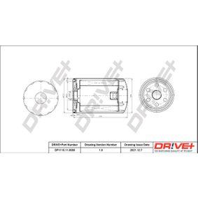 Ölfilter Ø: 79mm, Höhe: 123,0mm mit OEM-Nummer 1119 421