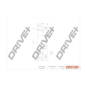 Touran 1T1, 1T2 2.0FSI Kraftstofffilter Dr!ve+ DP1110.13.0015 (2.0 FSI Benzin 2004 AXW)
