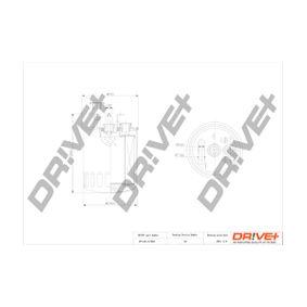 Kraftstofffilter Höhe: 127,0mm mit OEM-Nummer 611-092-0201