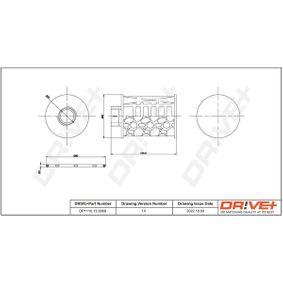 Filtro combustible DP1110.13.0068 EPICA (KL1_) 2.0D ac 2013