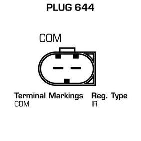 Lichtmaschine Rippenanzahl: 6 mit OEM-Nummer 7.792.072