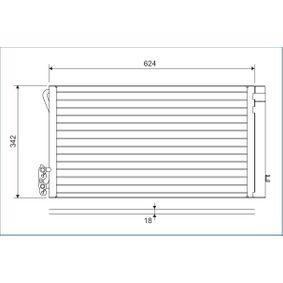 Kondensator, Klimaanlage 814012 1 Schrägheck (E87) 118d 2.0 Bj 2011