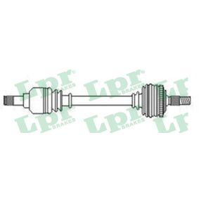 Drive Shaft Length: 615mm, Outer teething wheel side: 25 with OEM Number 169 370 5572