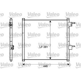 Kondensator, Klimaanlage Kältemittel: R 134a mit OEM-Nummer 13 34 284