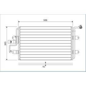 VALEO  817244 Kondensator, Klimaanlage Kältemittel: R 134a