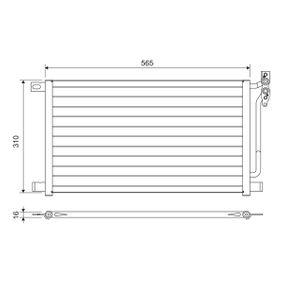 Kondensator, Klimaanlage 817405 3 Limousine (E46) 320d 2.0 Bj 2002