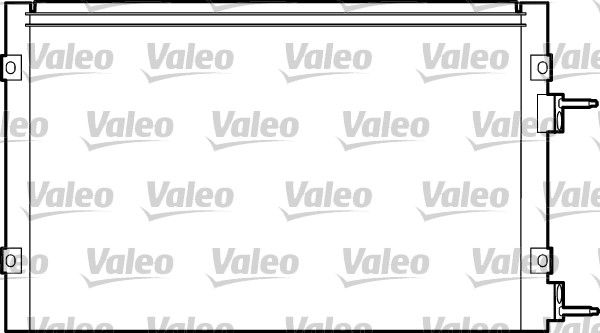 VALEO  817445 Kondensator, Klimaanlage Kältemittel: R 134a