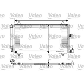 Kondensator, Klimaanlage Kältemittel: R 134a mit OEM-Nummer 6455EX