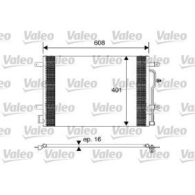 VALEO Kondensator, Klimaanlage 817569 für AUDI A4 Avant (8E5, B6) 3.0 quattro ab Baujahr 09.2001, 220 PS